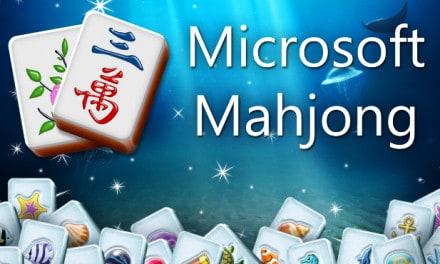 Microsoft Mahjong Game