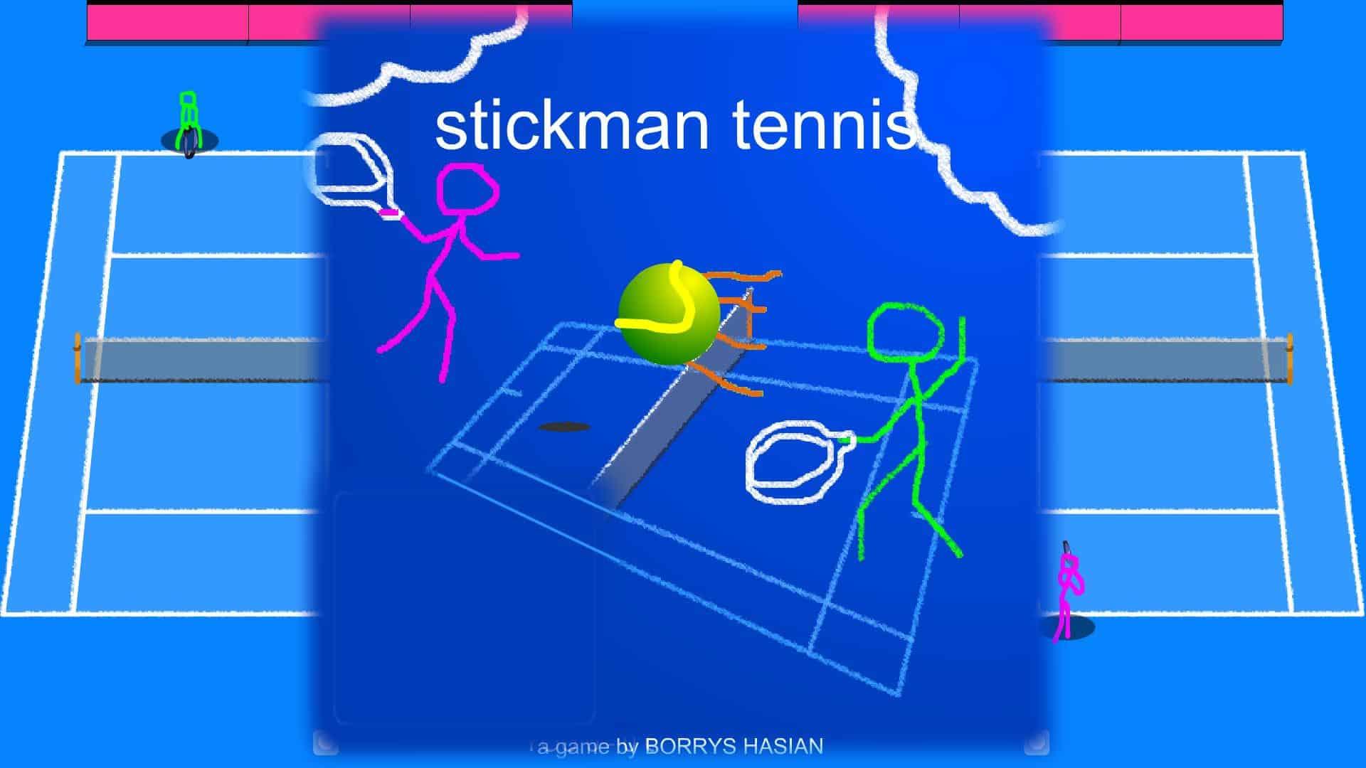 stickman games tennis