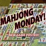 Mahjong Monday, Sept 10