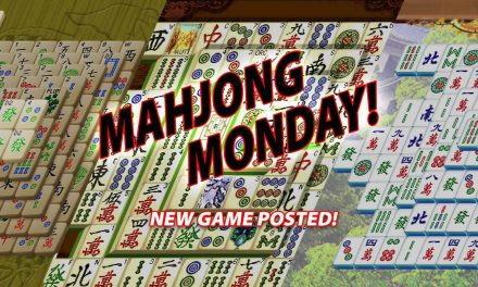 It's Mahjong Monday!